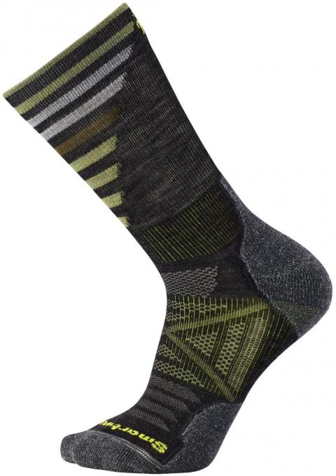 Herren PhD Outdoor Light Pattern Crew Wandersocke