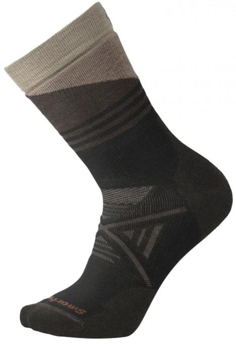 Herren PhD Outdoor Medium Pattern Crew Wandersocken