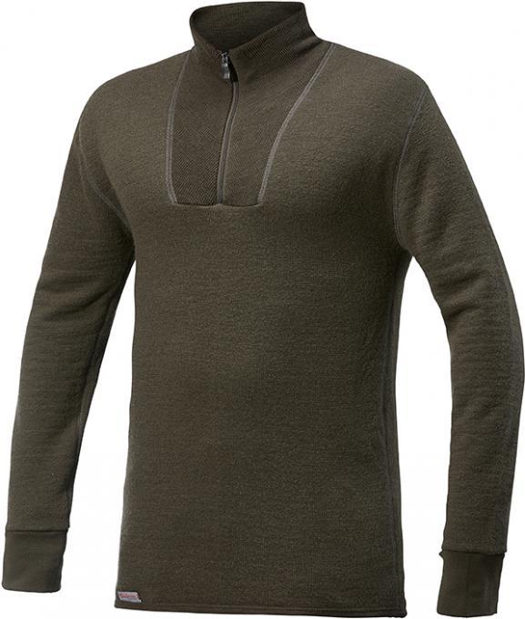 Unisex Zip Turtleneck Pullover 200 g