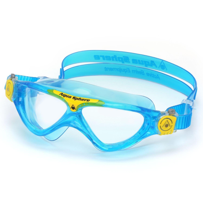 Weiterer Wassersport Schwimmen Aqua Sphere Kinder Schwimmbrille Vista Junior aqua-gelb