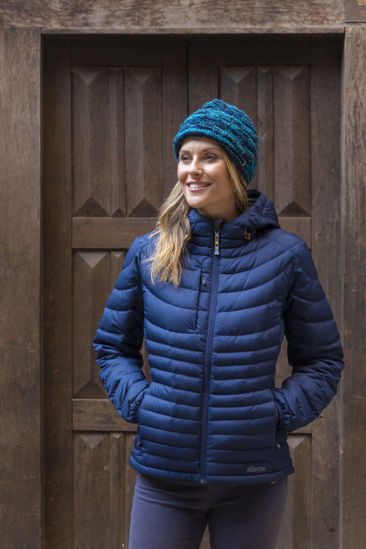 Sherpa Damen Nangpala Hooded Down Jacket im Biwak Onlineshop